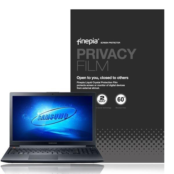 (파인피아)  삼성 노트북3 NT300E5L 시리즈용 Privacy 정보보호필름+올레포빅필름