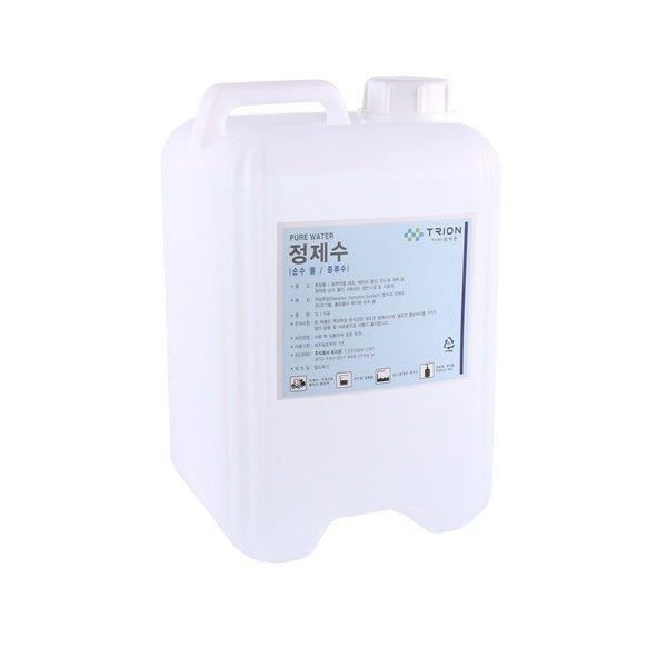 3차 증류수 정제수 배터리증류수 산업용정수 순수물