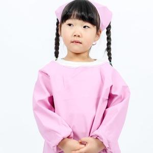 아동 방수앞치마 가운 미술가운 키즈 어린이집 DYAE27