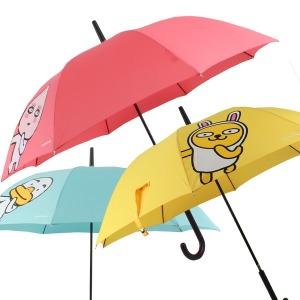 카카오프렌즈 3단 완전자동우산 장우산 아동우산