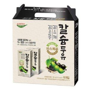 파스퇴르 검은콩검은깨 칼슘두유190ml(96팩)