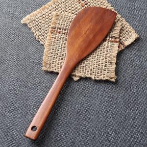 대추나무 천연 고급 옻칠 반달 뒤집개
