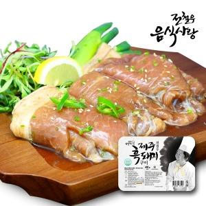 전철우 제주흑돼지 구이 3팩 (팩당 400g)