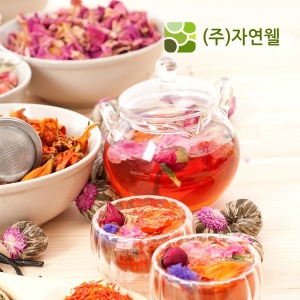 자연웰/35종 허브차/홍차/잎차/허브차티백/사은품증정