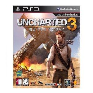 언차티드3 황금사막의 아틀란티스 (PS3) 한글판 중고