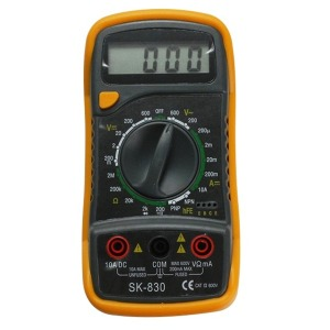 SKM전자 SK-830 디지털 테스터기/멀티메타/멀티미터