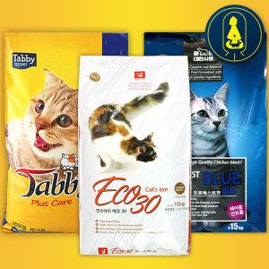 캣츠아이 에코30 15kg 프로베스트캣 태비 고양이사료