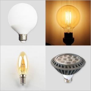 LED볼전구 에디슨 촛대구 조명 전구 볼램프 PAR30