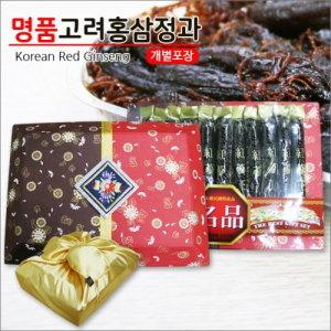 홍삼정과 500g 개별포장 선물세트