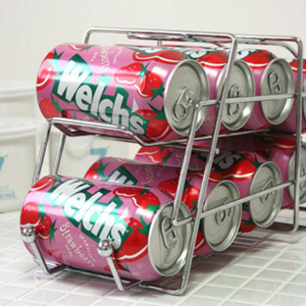 [해피클릭]캔디스펜서/맥주캔홀더/카스/화이트/걸이/수납보관/냉장고수납/정리용품/음료수케이스