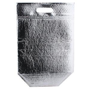 은박 보냉지퍼백 손잡이형 소 4묶음 100봉