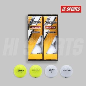 던롭 스릭슨 트라이스타 6구 골프공 3피스 로고인쇄
