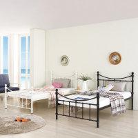 에밀리 1층 철제 침대 싱글 수퍼싱글+매트포함