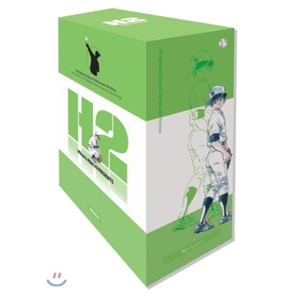H2 오리지널 1-5 박스세트  아다치 미츠루
