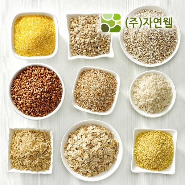 자연웰/잡곡/현미쌀/보리/흑미/기장/수수/찹쌀/차조