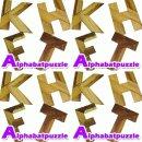 (2개묶음)원목퍼즐 알파벳 학습 완구 장난감 공간도형