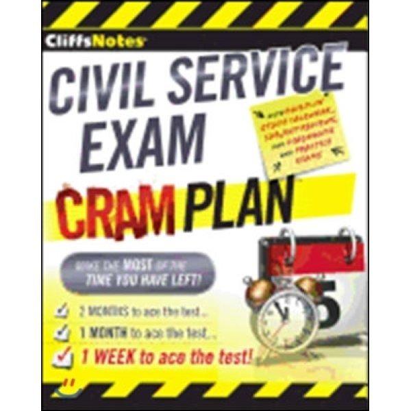 CliffsNotes Civil Service Exam Cram Plan  Northeast Editing Inc