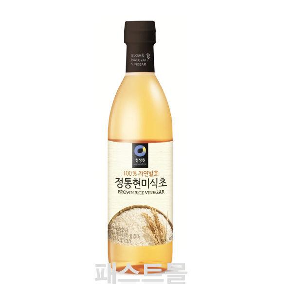 [청정원] 청정원 정통 현미식초 800ml (청정원식초/정통식초)