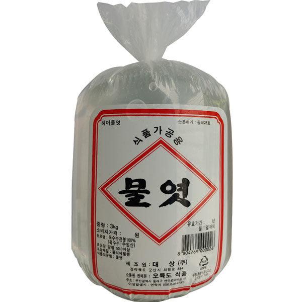 대상 오륙도 물엿 3kg(봉지) 6개/무료배송