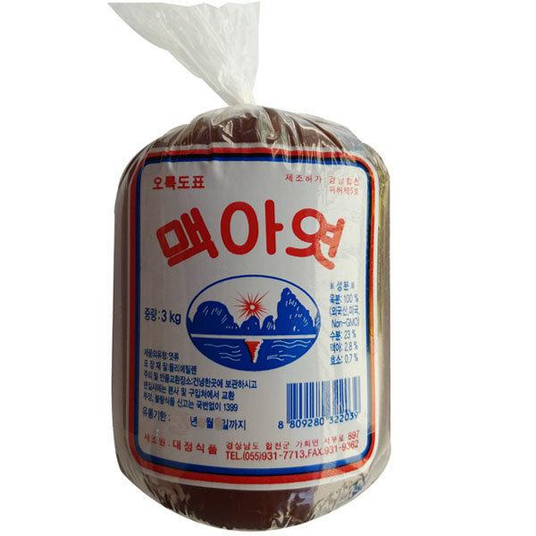 대정 오륙도 조청엿 3kg(봉지) 6개