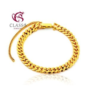 (클래스에스(Class S))  클래스에스  순금24K 팔각민 금팔찌 37.5g