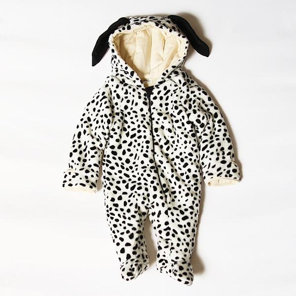 풍고 아기 겨울 방한 우주복 유아 옷 의류 백일 돌 복