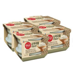 햇반 렌틸콩밥180g 12개 (3개x4)