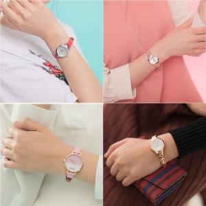 여자 여성 학생 손목 시계 메탈 추천 가죽 패션 선물