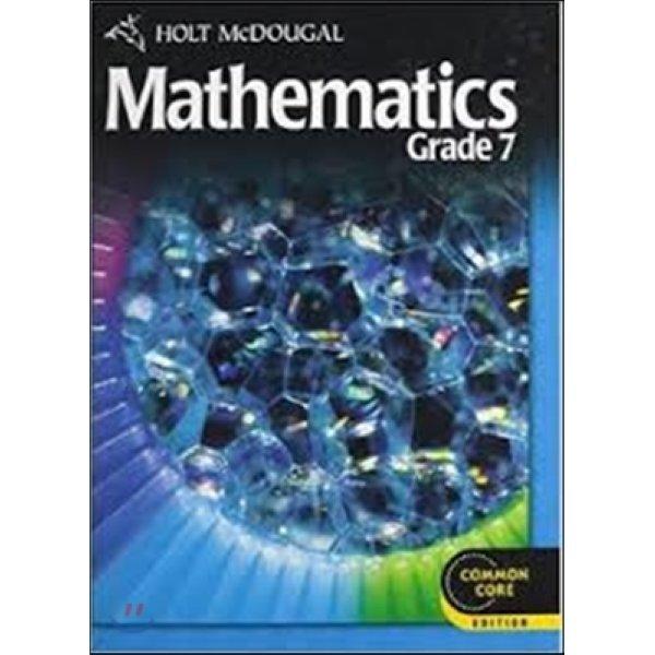 Mathematics Common Core Grade 7  Holt Mcdougal (COR)