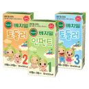 베지밀/아기두유/1.2.3단계/190ml(16팩)X1박스/토들러
