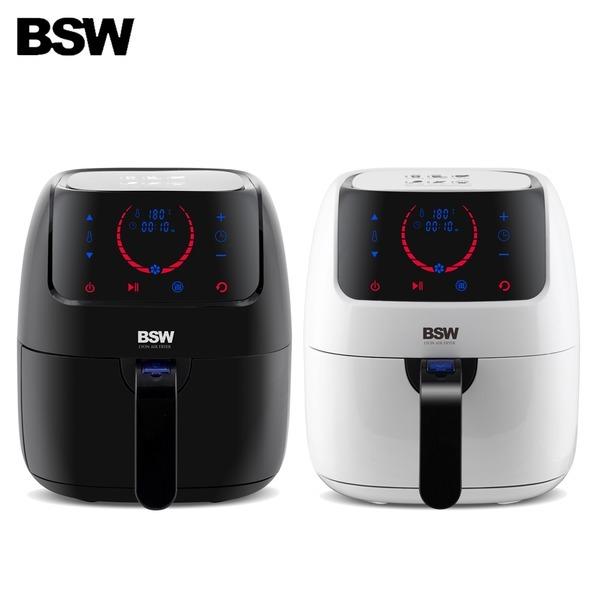 [비에스더블유] BSW 리옹 디지털에어프라이어 튀김기 BS-1812-AF 블랙