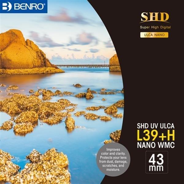 벤로 카메라 원형 UV필터 SHD UV L39+H ULCA WMC 43mm