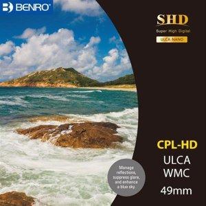 벤로 카메라 원형 CPL필터 SHD CPL-HD WMC/SLIM 49mm