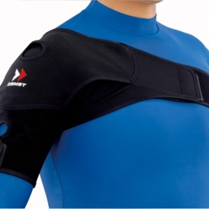 Shoulder wrap 숄더랩 어깨보호대 1개입 검정 좌우겸용