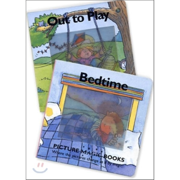 Picture Magic Book Set 1 : Out to Play  Bedtime  링구아포럼 리서치센터