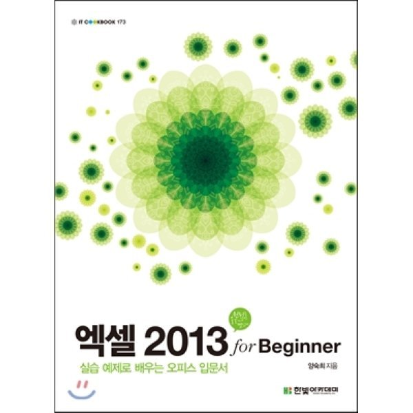 엑셀 2013 for Beginner  양숙희