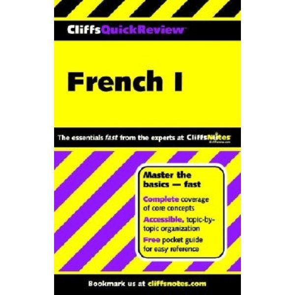Cliffs Quick Review : French I  Gail Stein