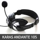 KARAS 헤드셋 ANDANTE 105 블랙