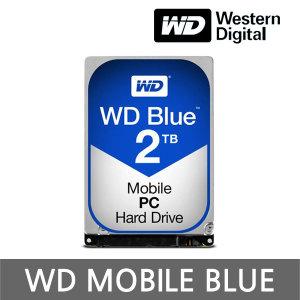 +正品 공식판매점+ WD MOBILE BLUE 2TB 7mm WD20SPZX