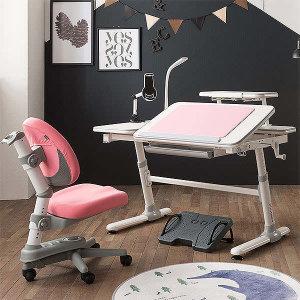 (현대Hmall) 위드그로우 스마트높낮이책상 그레이+지니의자 세트(의자색상 택1) 의자커버증정 10월27일까지