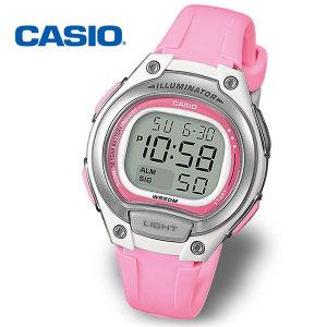 정품  CASIO 카시오 여성/학생용 LW-203-4AVDF 전자 스포츠시계