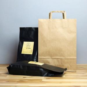 종이쇼핑백 크라프트 대 1매 종이봉투 국산 당일발송