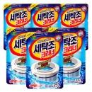 세탁조크리너 450gx6팩 표백제 세탁기청소 세정제