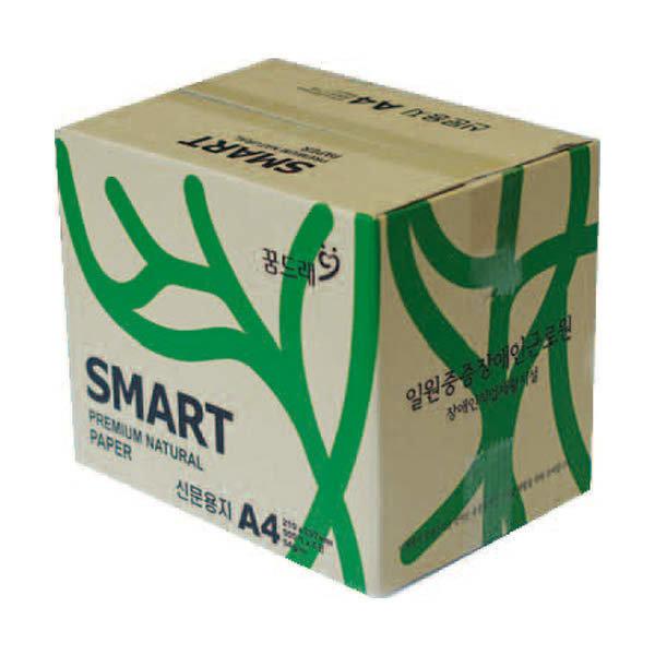 (현대Hmall) 118235 신문용지A4(54g/SMARTCOPY/500매X5권/박스)