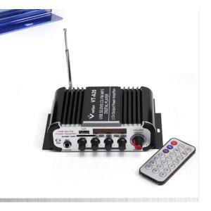 대출력 소형앰프/FM라디오+USB+SD+마이크/차량용