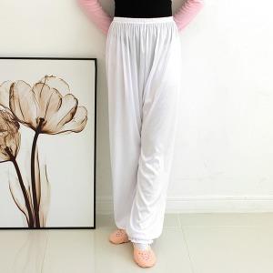 유제이 한국무용복 입시 한국무용 보드레 속바지 흰색