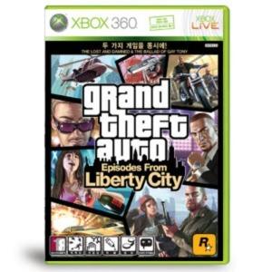 GTA 에피소드 프롬 리버티 시티(XBOX360) 지도동봉