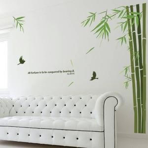 인테리어 포인트스티커 벽지 IP010-대나무숲