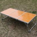 3단초경량미니테이블(오크) 캠핑테이블 접이식 야외