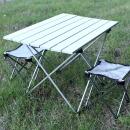 초경량모던테이블의자2개 캠핑테이블 접이식 야외